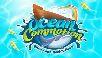 Ocean Commotion VBS Promotional Cards (Pack of 10)  -