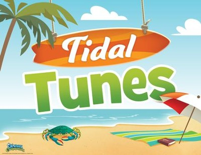 Ocean Commotion VBS Rotation Sign: Tidal Tunes  -