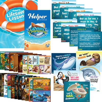 Ocean Commotion VBS Teacher Resources Kit: Toddler  -