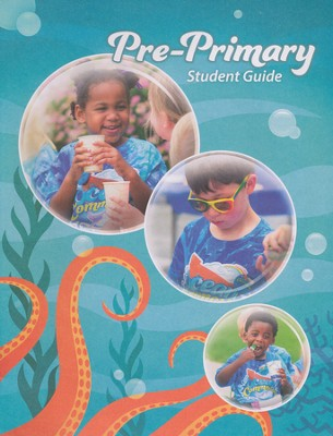 Ocean Commotion VBS Student Guides: Pre-Primary NKJV (Pack  of 10)  -