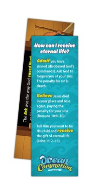 Ocean Commotion VBS Bookmark: The Gospel (Pack of 10)  -