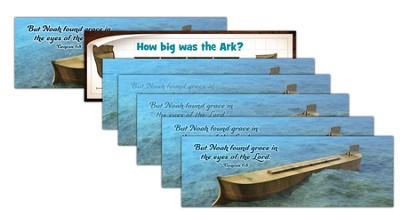 Ocean Commotion VBS Bookmark: Lenticular Ark (Pack of 10)  -