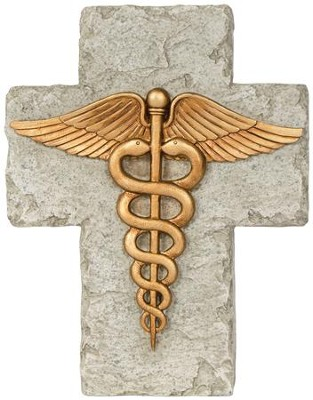 A Nurse's Prayer Mini Cross  -