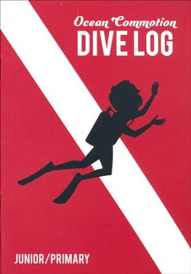 Ocean Commotion VBS Dive Log & Stickers: Junior/Primary KJV  (Pack of 10)  -