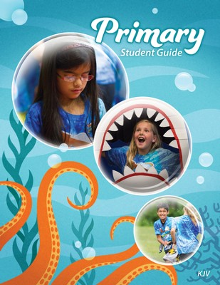 Ocean Commotion VBS Student Guides: Primary KJV (Pack of 10)  -