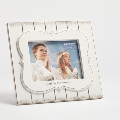 This Is the Day, First Communion Photo Frame  -