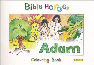 Bible Heroes: Adam - Colouring Book  -     By: Carine Mackenzie