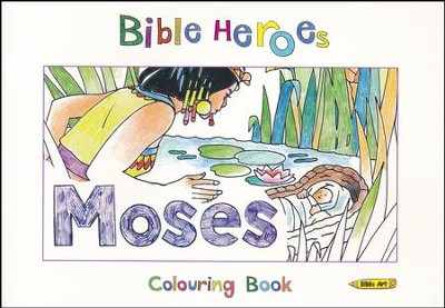 Bible Heroes: Moses Colouring Book  -     By: Carine Mackenzie