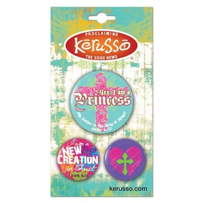 Princess Button Set  -
