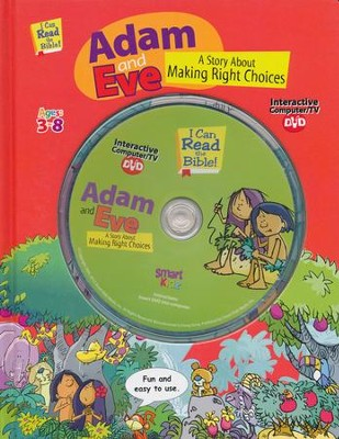 Adam And Eve with Interactive Computer DVD  -     By: Ron Berry     Illustrated By: Chris Sharp