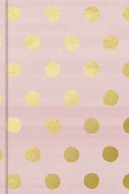 Pink with Gold Dots Journal  -