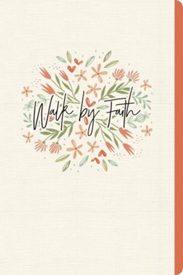 Walk by Faith (Floral) Journal  -