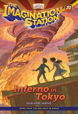 Adventures in Odyssey The Imagination Station ®  Inferno in Tokyo - eBook  -     By: Marianne Hering