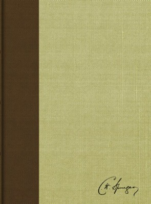 RVR 1960 Biblia de estudio Spurgeon, marron claro en tela (Spurgeon Study Bible, brown/tan cloth over board)  -
