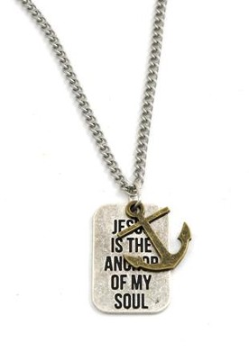 Jesus Is the Anchor of My Soul--Pendant  -