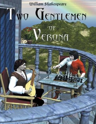 Two Gentlemen of Verona: Easy Reading Shakespeare in 10 Illustrated Chapters - eBook  -     By: William Shakespeare