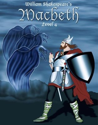 Macbeth: Easy Reading Shakespeare in 10 Illustrated Chapters - eBook  -     By: William Shakespeare