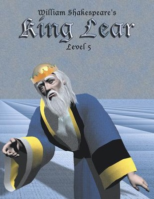 King Lear: Easy Reading Shakespeare in 10 Illustrated Chapters - eBook  -     By: William Shakespeare