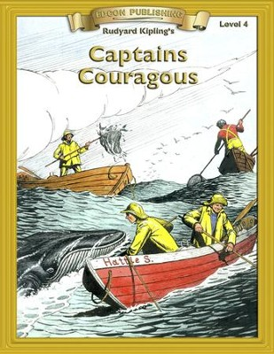 Captains Courageous: Easy Reading Classics Adapted and Abridged - eBook  -     By: Rudyard Kipling