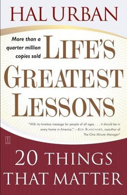 Lifes greatest lessons 20 things that matter ebook hal urban lifes greatest lessons 20 things that matter ebook by hal urban fandeluxe Gallery