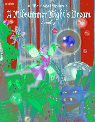 A Midsummer Night's Dream: Easy Reading Shakespeare in 10 Illustrated Chapters - eBook  -     By: William Shakespeare