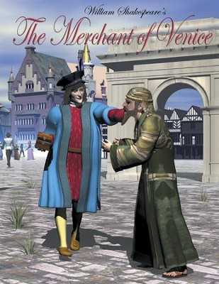 The Merchant of Venice: Easy Reading Shakespeare in 10 Illustrated Chapters - eBook  -     By: William Shakespeare