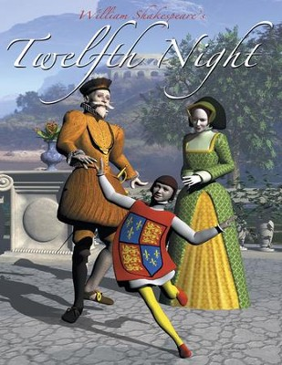 Twelft Night: Easy Reading Shakespeare in 10 Illustrated Chapters - eBook  -     By: William Shakespeare