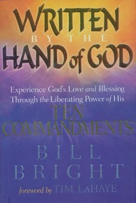 Written by the Hand of God   -     By: Bill Bright