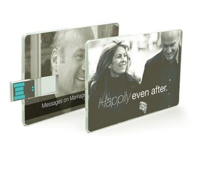 Happily Even After--Sermons on Marriage, USB Card   -     By: Greg Laurie