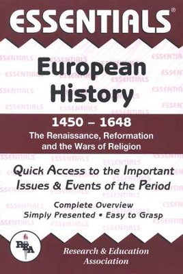 Essentials - European History: 1450 to 1648  -