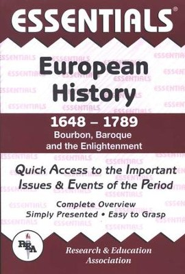 Essentials - European History: 1648 to 1789   -