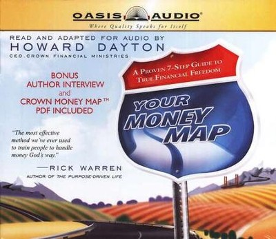 Your Money Map - Audiobook on CD   -     By: Howard Dayton