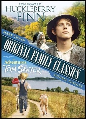 Mark Twain Original Family Classics: Huckleberry DVD  -