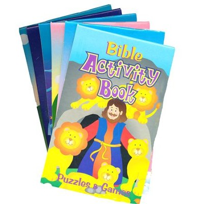 Bible Activity Books, Package of 12  -