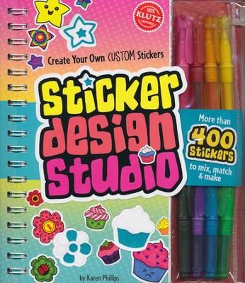Sticker design studio by karen phillips