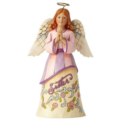 Heartwood Creek, Sister, Forever A Sister, Always A Friend, Angel Figurine  -     By: Jim Shore