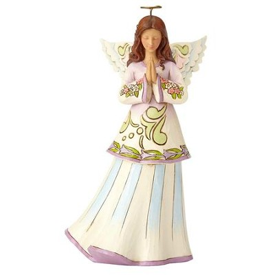Heartwood Creek, Pray, Believe and Receive, Angel Figurine  -     By: Jim Shore