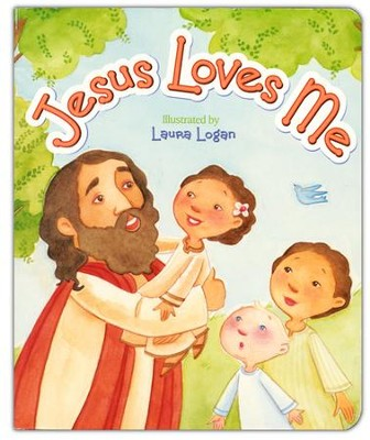 Jesus Loves Me, Board Book  -