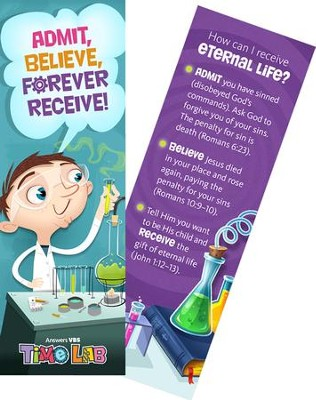 Time Lab: Gospel Bookmark (pkg. of 10)   -