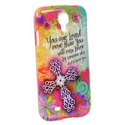 You Are Loved Floral, Galaxy 4 Phone Case  -