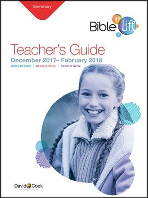 Bible-in-Life Elementary Teacher's Guide, Winter 2016-17  -