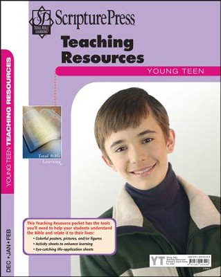 Scripture Press: Young Teen Teaching Resources, Winter 2017-18  -