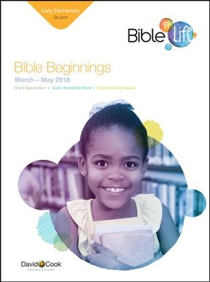 Bible-in-Life: Early Elementary 'Bible Beginnings' Student Book, Spring 2018  -