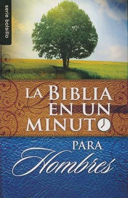 Biblia en un Minuto para Hombres  (One-Minute Pocket Bible for Men)  -     By: Mike Murdock