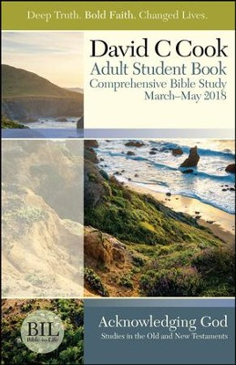 Bible-in-Life: Adult Student Book, Spring 2018  -