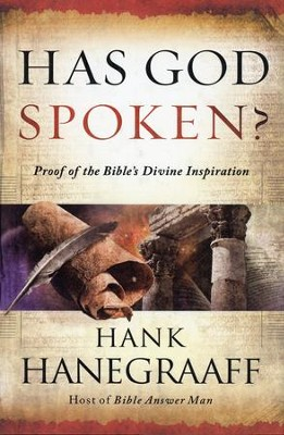 Has God Spoken?: Proof of the Bible's Divine Inspiration - Slightly Imperfect  -     By: Hank Hanegraaff