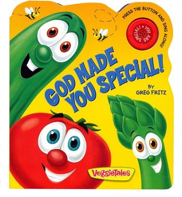 God Made You Special Board Book  -     By: Greg Fritz