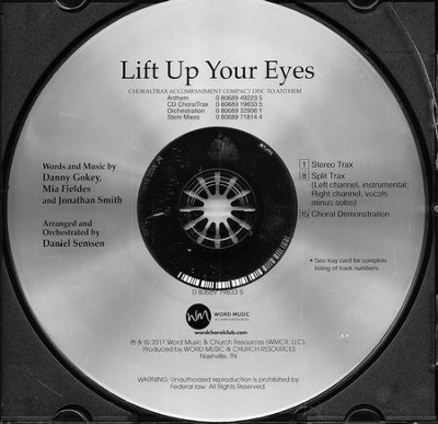 Lift Up Your Eyes CD ChoralTrax   -     By: Daniel Semsen