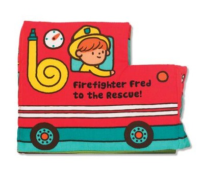 Firefighter Fred to the Rescue, Cloth Book  -
