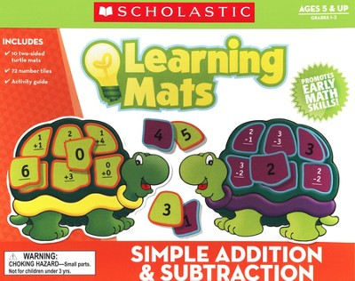 Simple Addition and Subtraction Mats  -